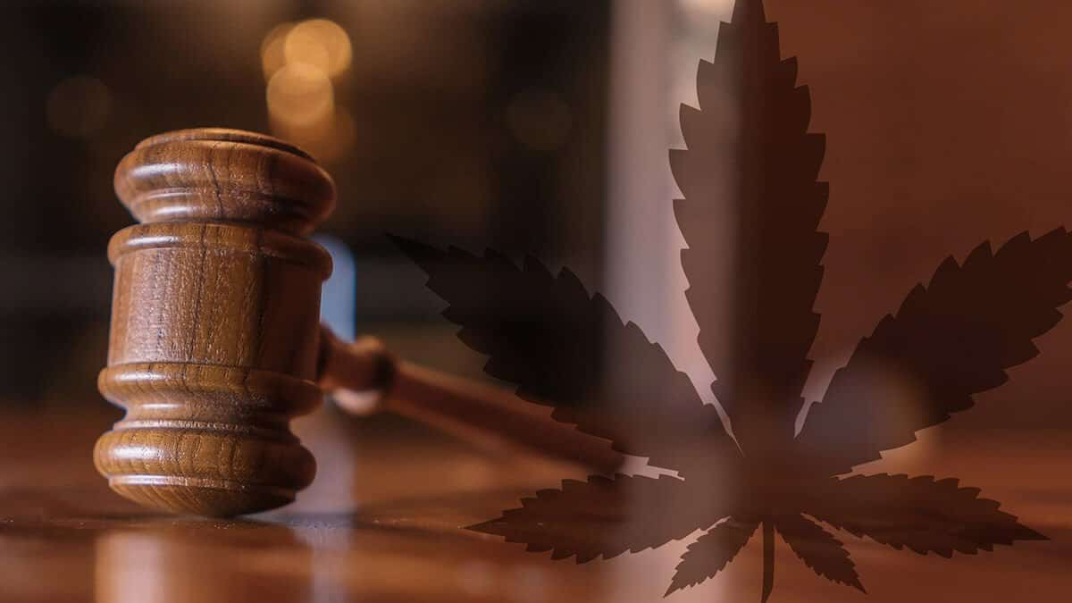 Judges gavel and marijuana leaf, Arizona Court of Appeals State v. Jones
