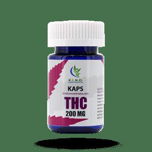 K.I.N.D. Caps THC capsules 200mg