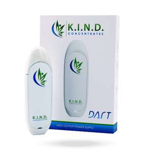 K.I.N.D. Concentrates dart with packaging box