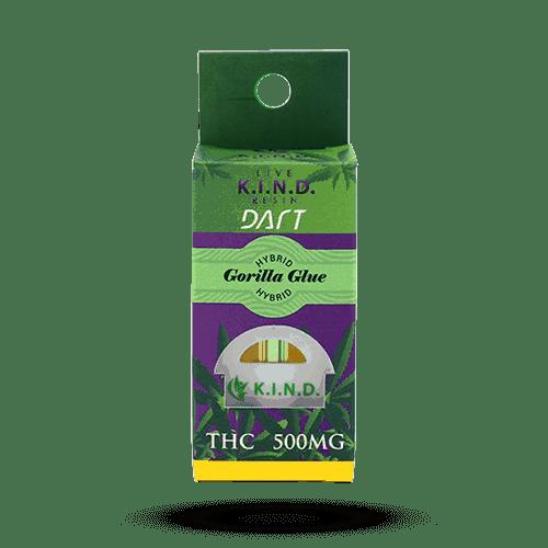 K.I.N.D. Concentrates dart cartridge packaging gorilla glue hybrid