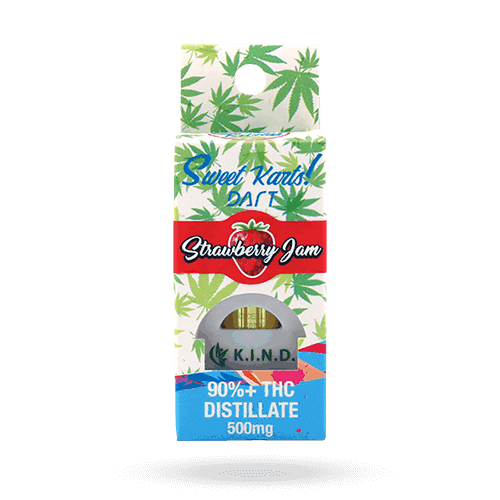 K.I.N.D. Concentrates dart cartridge strawberry jam