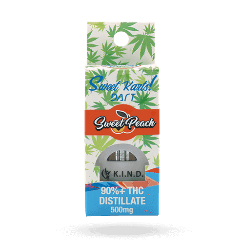 K.I.N.D. Concentrates dart cartridge sweet peach