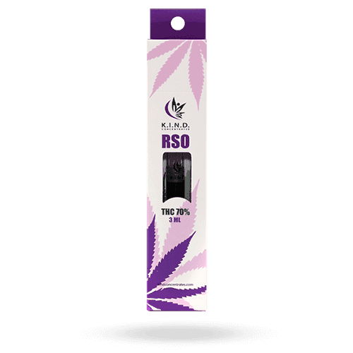 K.I.N.D. Concentrates RSO 3ml 70% thc