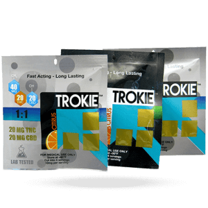 Cannabis Lozenges - Trokie