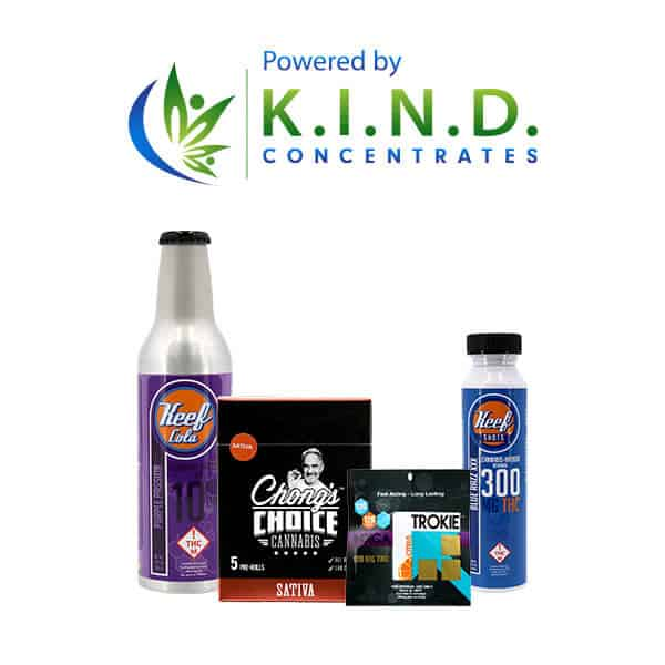 products powered by K.I.N.D. Concentrates