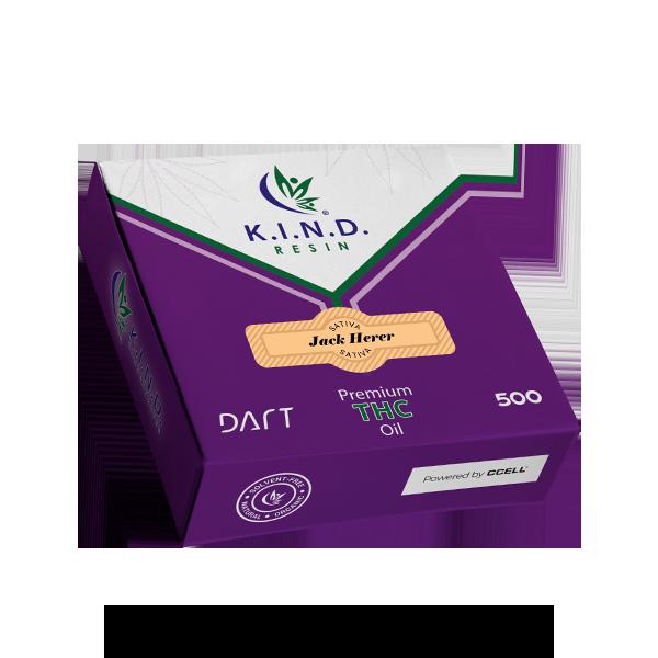 K.I.N.D. Resin THC oil 500mg DART - Jack Herer