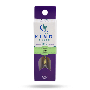 K.I.N.D. Live Resin 1000 mg THC vape cart AP