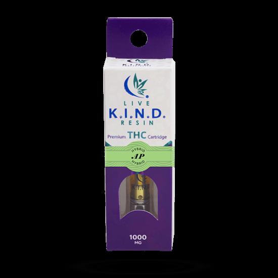 K.I.N.D. Live Resin 1000 mg THC vape cart AP