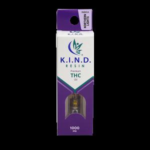 K.I.N.D. Resin 1000 mg THC vape cartridge - Northern Lights