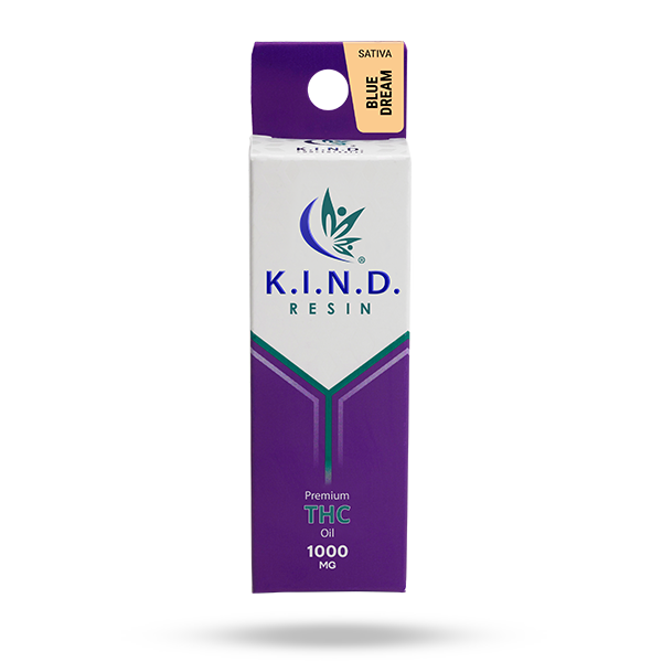 K.I.N.D. Resin THC oil 1000mg - Blue Dream