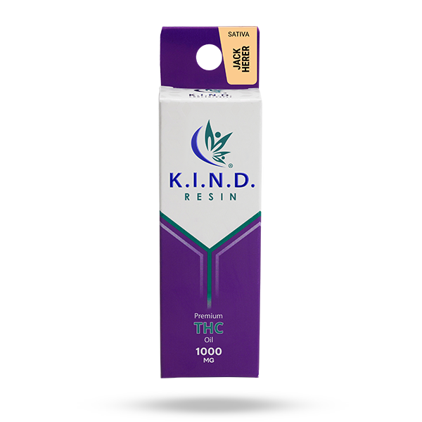 K.I.N.D. Resin THC oil 1000mg - Jack Herer