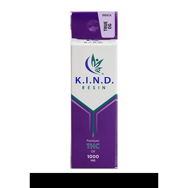 K.I.N.D. Resin THC oil 1000mg - True OG