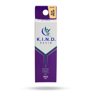 K.I.N.D. Resin THC oil 500mg - Blue Dream