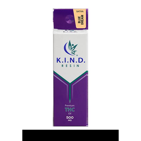K.I.N.D. Resin THC oil 500mg - Blue Dream