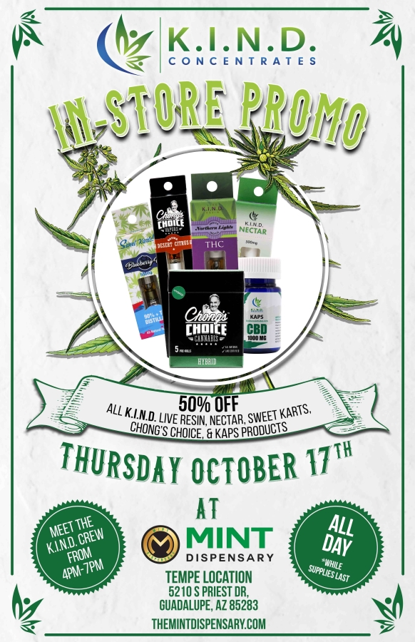 event at Debbie's Dispensary 17.10.2019