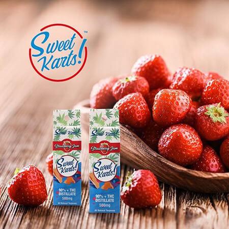 New Sweet Karts flavor - Strawberries