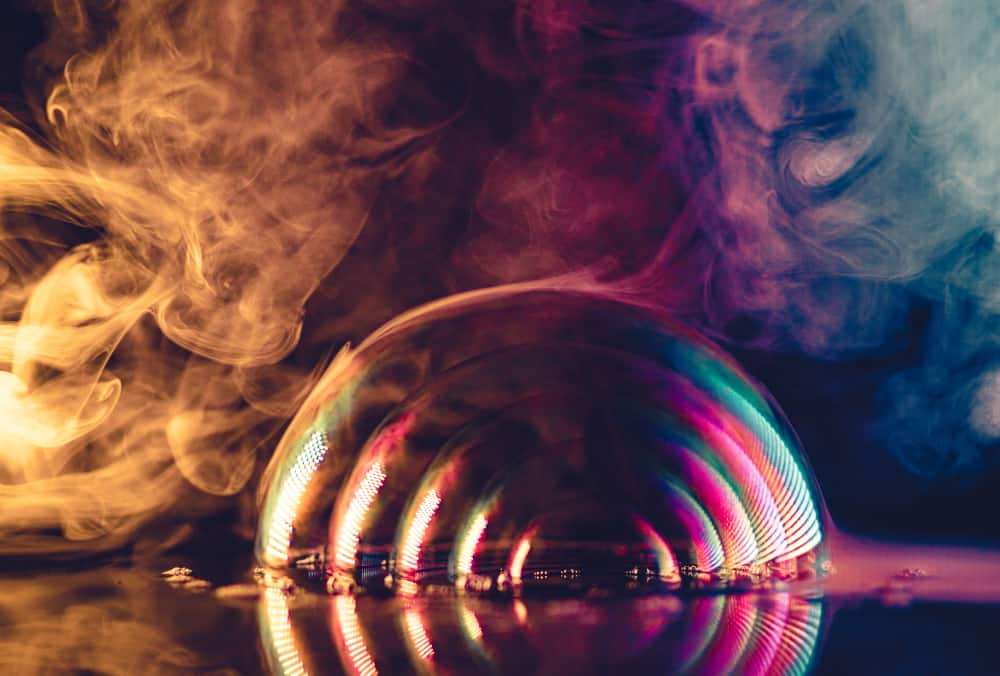 smoke bubbles