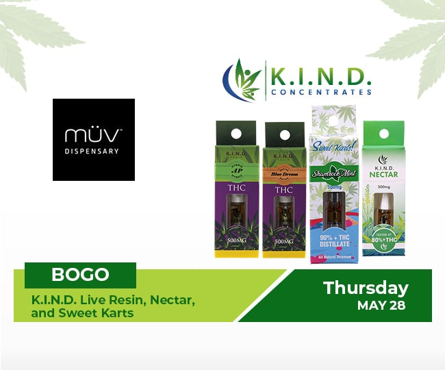 event at MuV Dispensary 28.05.2020