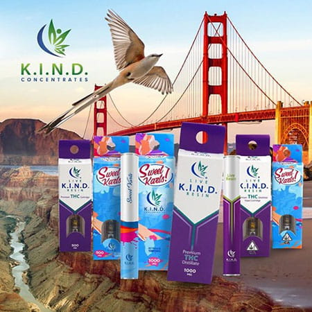 K.I.N.D. Concentrates new product packaging