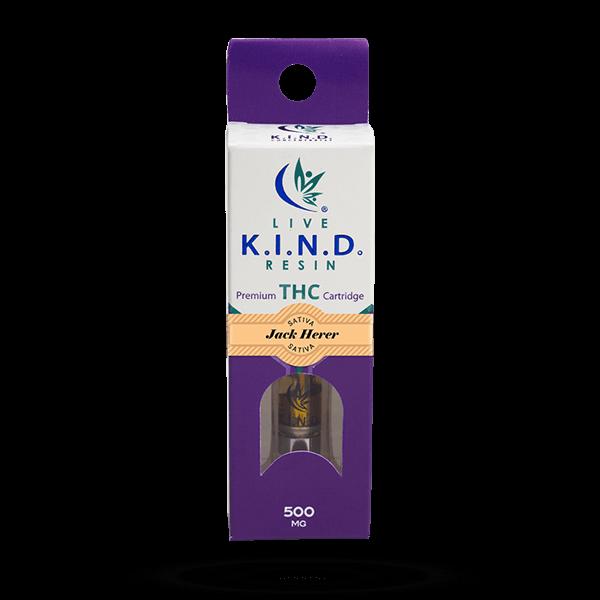 K.I.N.D. Live Resin THC vape cart Jack-Herer