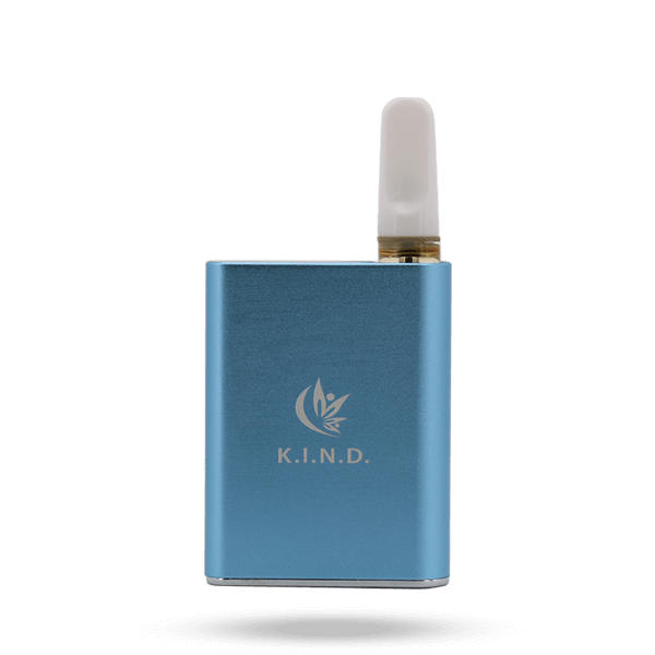 K.I.N.D. Sweet Karts and Live Resin vape pen battery blue
