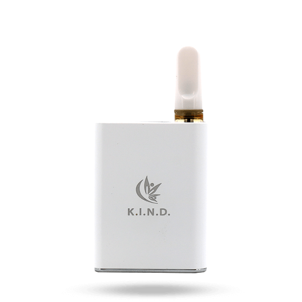 K.I.N.D. Sweet Karts and Live Resin vape pen battery white