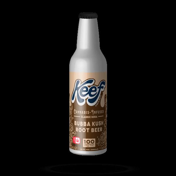 K.I.N.D. Keef Cannabis infused soda Bubba Kush Root Beer