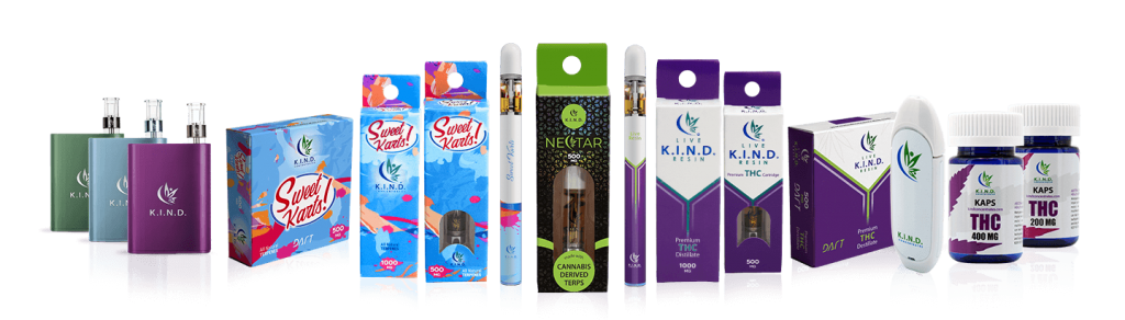 K.I.N.D. Concentrates products