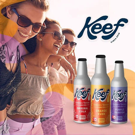 Keef Cola: the cannabis-infused drinks powered by K.I.N.D.
