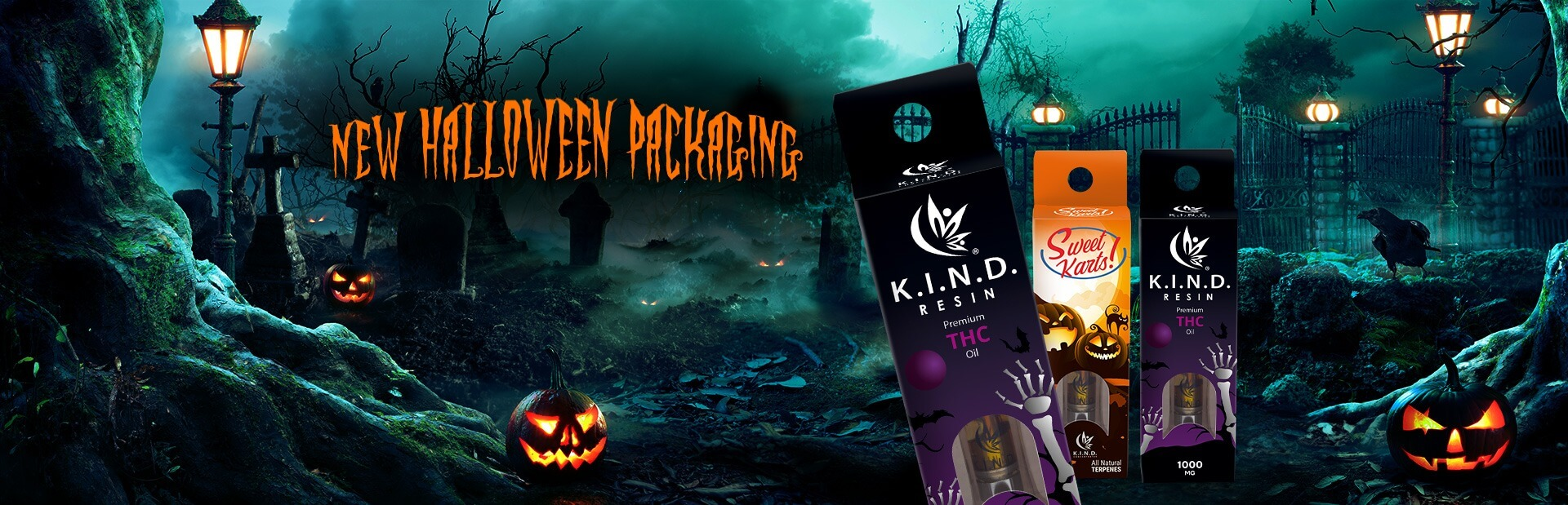 New Halloween K.I.N.D. Packaging