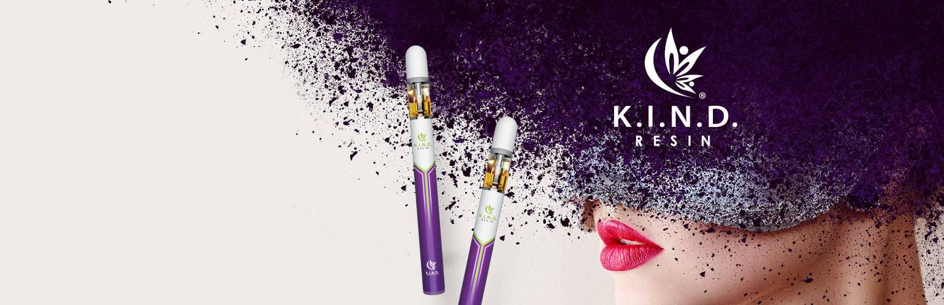 K.I.N.D. Resin disposable vape pen