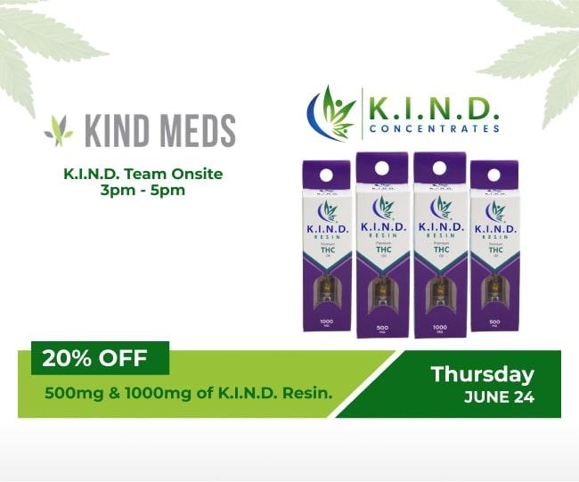 event at Kind Meds 24.06.2021