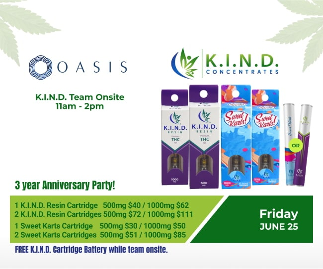 event at Oasis South 25.06.2021