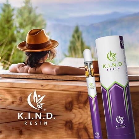 KIND Resin THC Vape oil cart